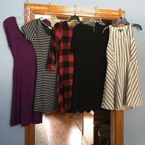 Dresses & Skirts - FIVE CASUAL DRESSES!!!